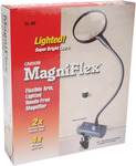 MagniFlex Flexible Arm Lighted HandsFree Magnifier
