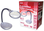 Deskbrite 200 Illuminated Magnifier & Desk Lamp