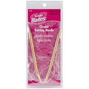 "Size 10/6mm - Silvalume Circular Knitting Needles 36"""