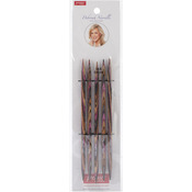 "Size 8/5mm - Deborah Norville Double Pointed Needles 6"""