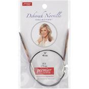 "Size 5/3.75mm - Deborah Norville Fixed Circular Needles 16"""