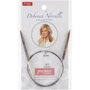 "Size 6/4mm - Deborah Norville Fixed Circular Needles 16"""