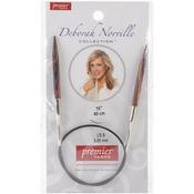 "Size 8/5mm - Deborah Norville Fixed Circular Needles 16"""