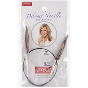 "Size 10.5/6.5mm - Deborah Norville Fixed Circular Needles 16"""