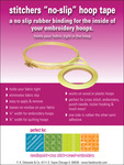 "Stitcher's No - Slip Hoop Tape .25""X9yd-"