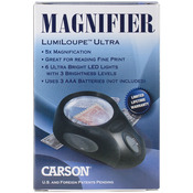 "LumiLoupe Ultra LED Lighted Magnifier 5.5""X3.6""X1.4""-"