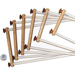 "Oak E - Z Stitch Frame 14""-"