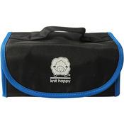 Black/Blue - Knit Happy Fold 'n Go Notions Box