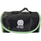 Black/Green - Knit Happy Fold 'n Go Notions Box
