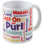 Knit Lovers' Lingo Mug 11oz-