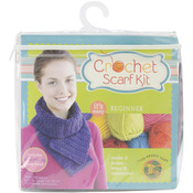 Purple - Beginner Crochet Scarf Kit