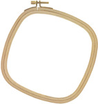 "Wood Embroidery Hoop 6""-"