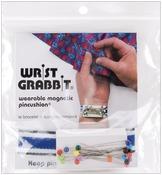 W/20 Pins - Wrist Grabbit Magnetic Pincushion