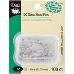 Size 20 100/Pkg - Glass Head Pins