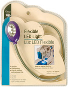 Assorted Colors -Teal, Raspberry, Purple - Flexible LED Light