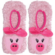 Pink Pig - Novelty Slippers