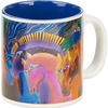 Wild Horses Of Fire - Laurel Burch Artistic Mug Collection Laurel Burch-Artistic Mug Collection. Laurel Burch is an internationally known artist and designer with an instantly recognizable palette and style. Enjoy vivid and vibrantly colored mugs from her collections! This package contains one 14oz mug. Comes in a variety of designs. Each sold separately. WARNING: this product may contain a chemical known to the state of California to cause cancer, birth defects or other reproductive harm. Microwave and dishwasher safe. Imported.