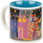 Feline Family Portrait - Laurel Burch Artistic Mug Collection