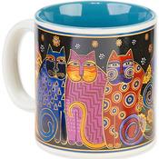 Feline Family Portrait - Laurel Burch Artistic Mug Collection