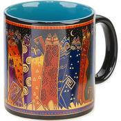 Santa Fe Felines - Laurel Burch Artistic Mug Collection