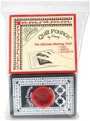 4oz White - Quilt Pounce Pad W/Chalk Powder