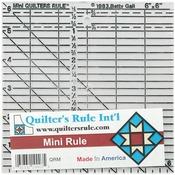 "6""X6"" - Quilter's Mini Ruler"