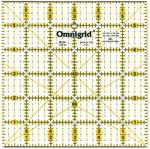 """6""""X6"""" - Omnigrid Quilter's Square"""