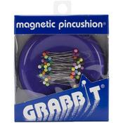 Purple - Grabbit Magnetic Pincushion W/50 Pins