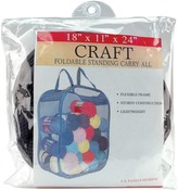 """18""""X11""""X24"""" Black - Foldable Standing Carry All"""
