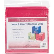 """Fuchsia - Yarn & Craft Storage Cube 12""""X12""""X12"""""""