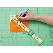 "12"" - No-Hassle Triangle Gauge By Nancy Zieman"