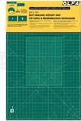 "23""X70"" Clipped - OLFA Gridded Cutting Mat Set"