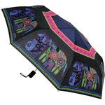 "Dogs & Doggies - Laurel Burch Compact Umbrella 42"" Canopy Auto Open/Close"