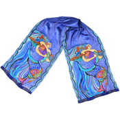 Sea Dreams - Laurel Burch Scarves