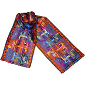 Three Amigos - Laurel Burch Scarves
