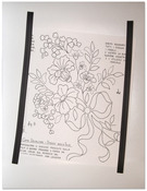 "Pattern Layout Magnetic Sheet 12""X15""-"
