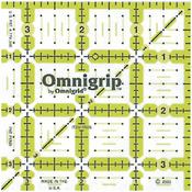 """3-1/2""""X3-1/2"""" - Omnigrip Non-Slip Quilter's Ruler"""