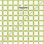 """8-1/2""""X8-1/2"""" - Omnigrip Non-Slip Quilter's Ruler"""