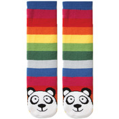 Panda - Multi Stripe - Tubular Novelty Socks