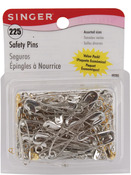 Sizes 00 To 3 225/Pkg - Safety Pins