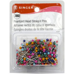 Size 24 300/Pkg - Pearlized Straight Pins