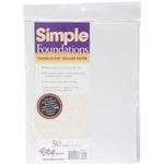 Simple Foundations Translucent Vellum Paper Pack