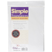 Simple Foundations Translucent Vellum Paper Pack