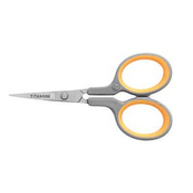 "Titanium Straight Embroidery Scissors 4""-"