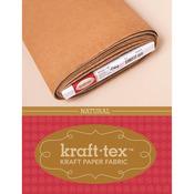 """Kraft - Tex Kraft Paper Fabric 19""""X10yd - Natural"""