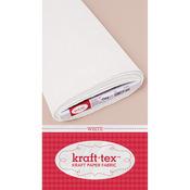 "White - Kraft-Tex Kraft Paper Fabric 19""X10yd"
