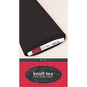 """Black - Kraft-Tex Kraft Paper Fabric 19""""X10yd"""