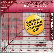 """6-1/2""""X6-1/2"""" - The Cutting EDGE Frosted Ruler"""