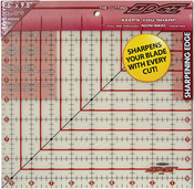 """9-1/2""""X9-1/2"""" - The Cutting EDGE Frosted Ruler"""