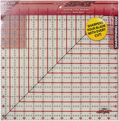 "12-1/2""X12-1/2"" - The Cutting EDGE Frosted Ruler"